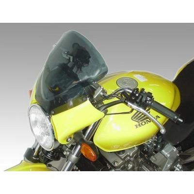 【全商品オープニング価格 特別価格】 ISOTTA: HONDA Hornet 600 '98-02 - ウインドシールド - ホールディングパネル: レッド, ウインドシールド: ライト スモークト, イージーモンキー b8e64d67