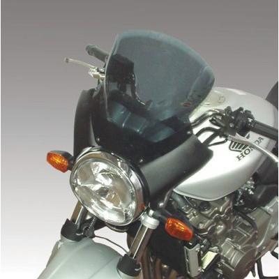 【お年玉セール特価】 ISOTTA: HONDA Hornet 600-900 '2003 - ウインドシールド - ホールディングパネル: ブラック?, ウインドシールド: ダーク スモークト, WELLBESTショッピング 60795bfc