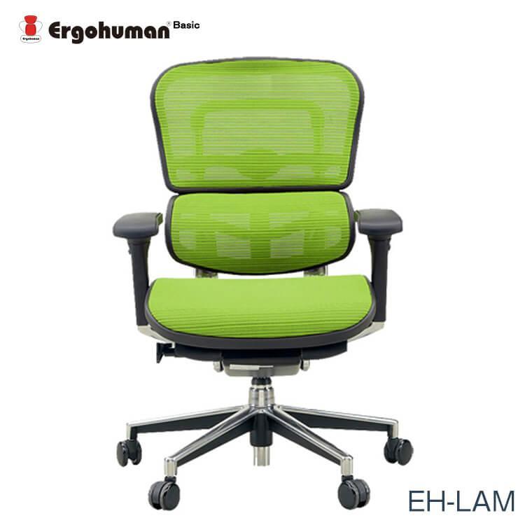 エルゴヒューマン チェアー EH-LAM Ergohuman 人間工学 多機能 メッシュ ロータイプ オフィス 高品質 KMD34 送料無料