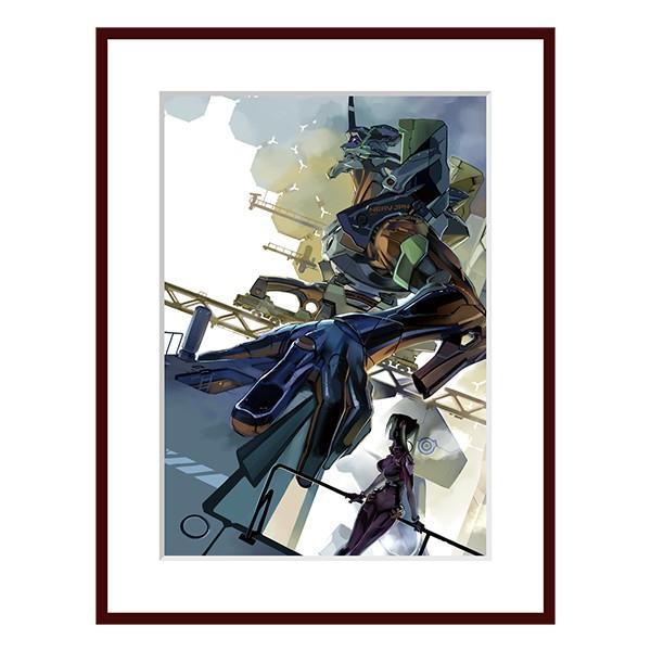 【限定生産品】KADOKAWA エヴァンゲリオンANIMA2巻表紙複製原画 evastore