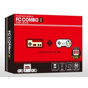【FC&SFC相互機】 FC COMBO2 エフシーコンボ2 ファミコン&スーパーファミコン 互換機|eve-ltd