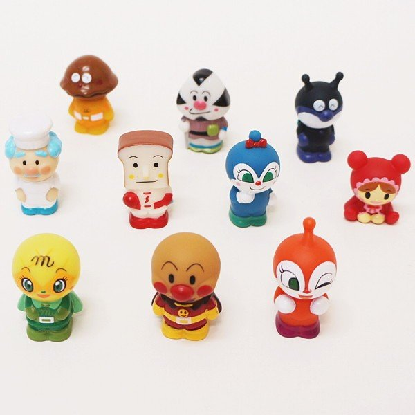 すくい用人形 アンパンマン10種類セット/キャラクター人形 お祭り販売品 縁日|event-ya