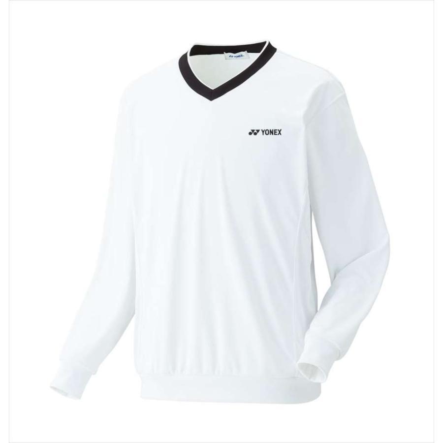 ヨネックス YONEX 32019 テニス・バドミントン ウェア(メンズ/ユニ) ユニトレーナー ホワイト 17SS