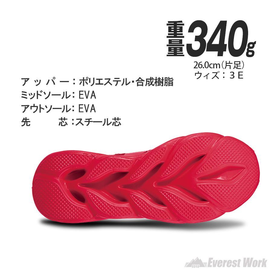 セーフティーシューズ ローカット 人気 高通気性 軽量 ニット カジュアル 安全スニーカー 安全靴 作業靴 自重堂 Z-DRAGON ジードラゴン S2201【即日出荷】 everest-work 04