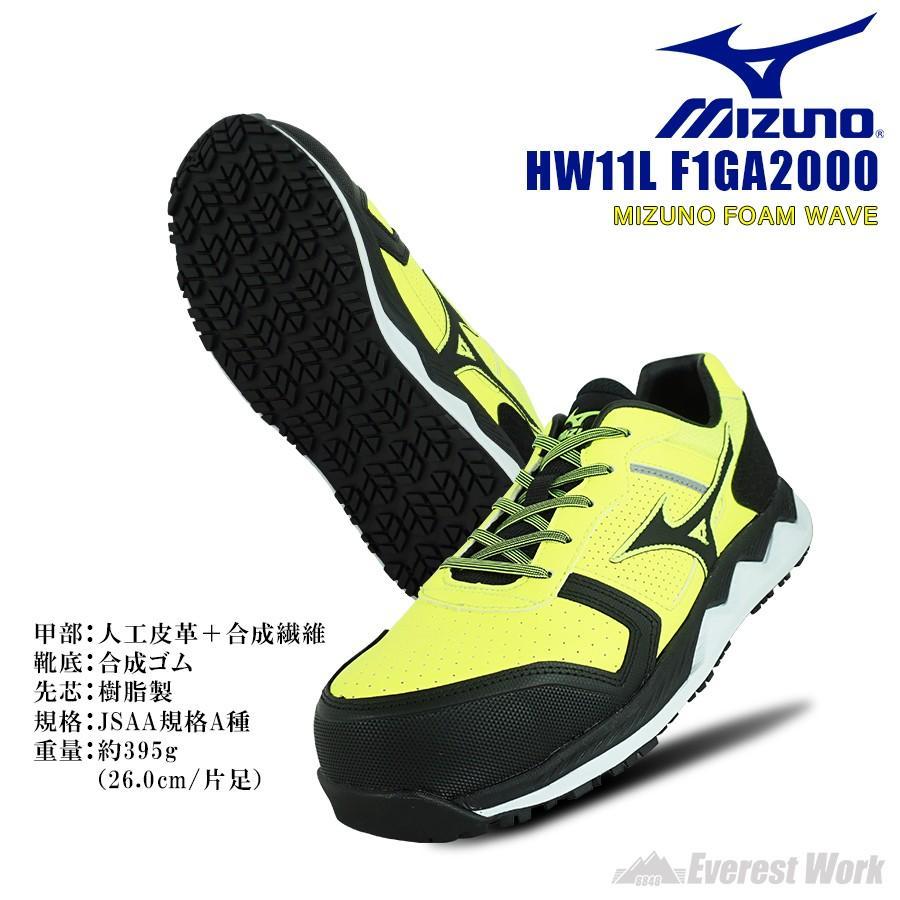 ミズノ 安全靴 F1GA2000