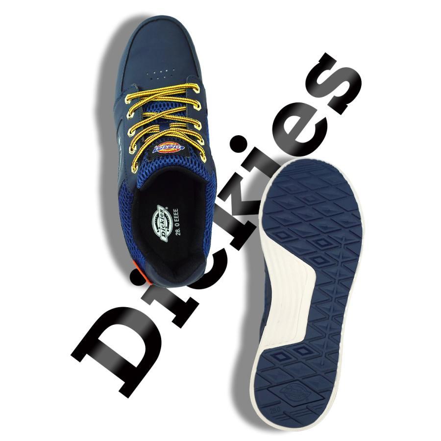 セーフティスニーカー ローカット カジュアル 安全靴 安全スニーカー ワークシューズ Dickies ディッキーズ D-3307 everest-work 06