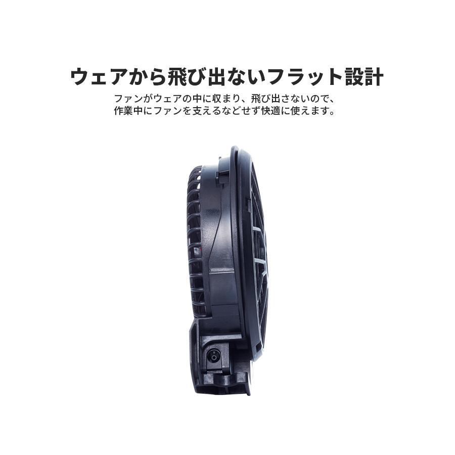 フラットハイパワーファンセット フラットファン 空調風神服用ファン 薄型 コンパクトファン フラット設計 KANSAI カンサイ RD9120H|everest-work|04