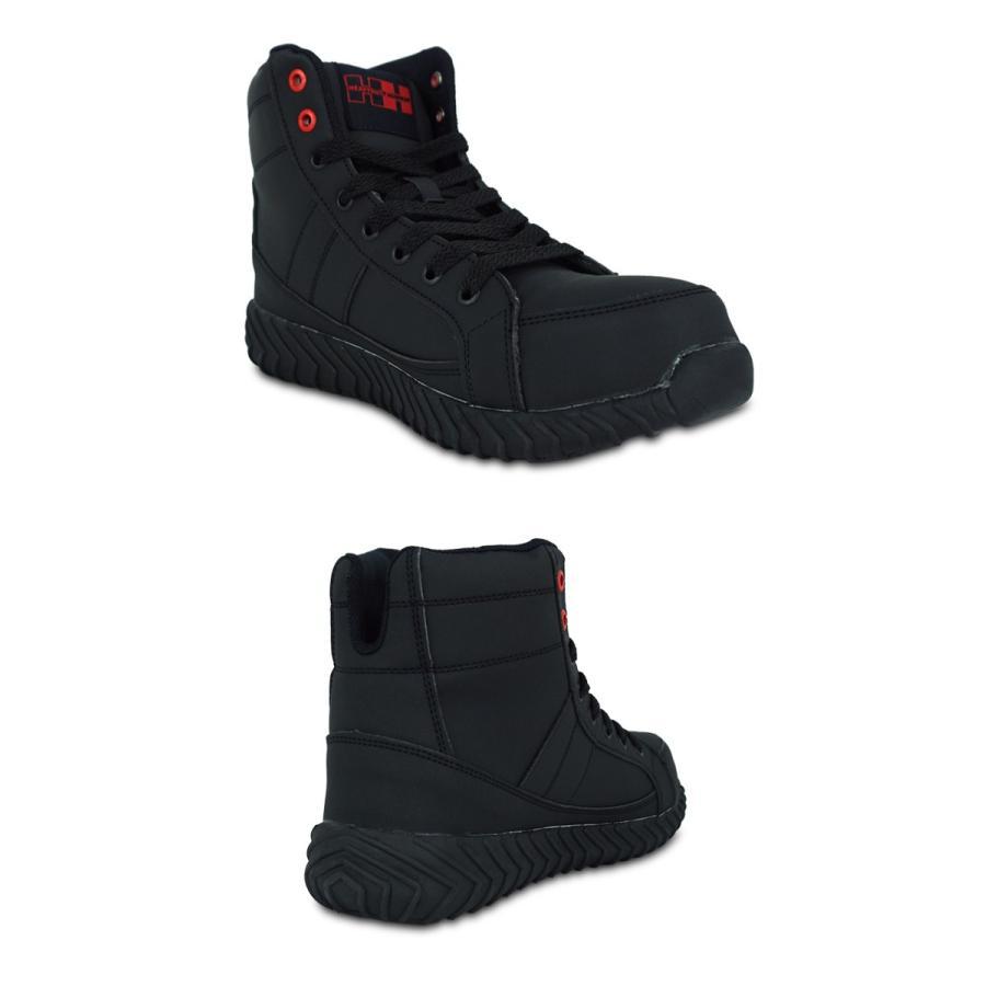安全スニーカー 安全靴 作業靴 ハイカット カジュアル 樹脂製先芯 HEAVYDUTY HUMMER ヘビーデューティーハマー 弘進ゴム HDH-301H|everest-work|04