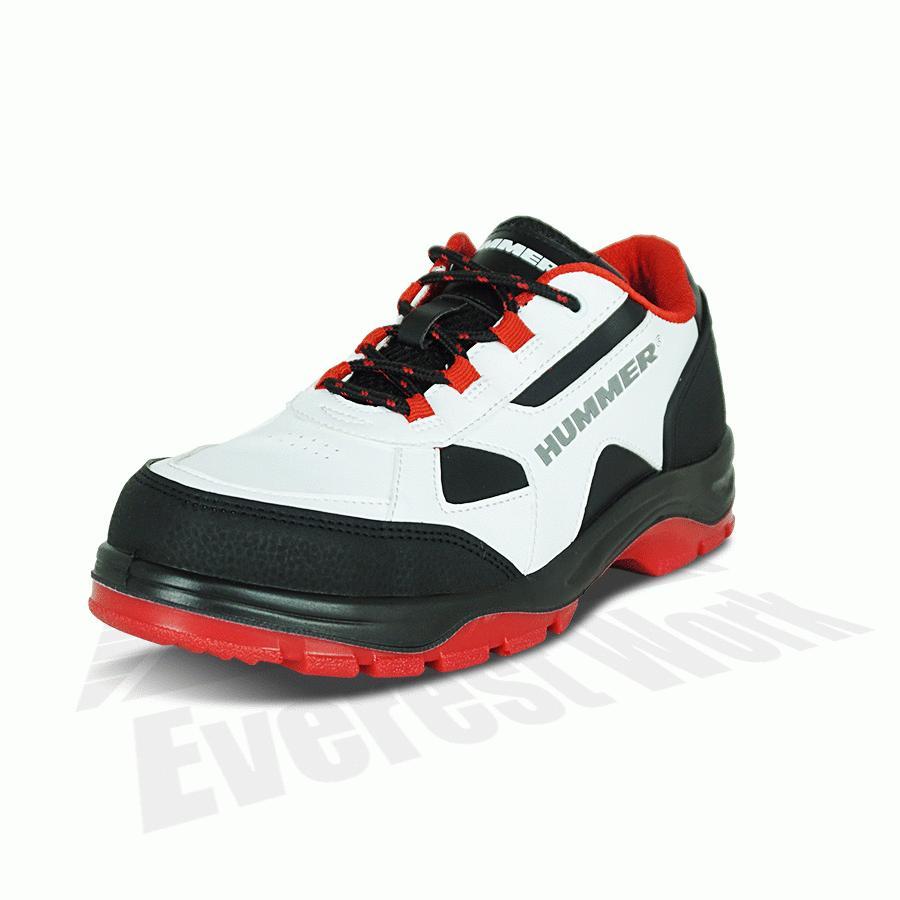 安全スニーカー ローカット 安全靴 作業靴 人気 反射材 鋼製先芯 耐油 耐摩耗 衝撃吸収底 HUMMER ハマー 弘進ゴム HS-Z2 everest-work 04