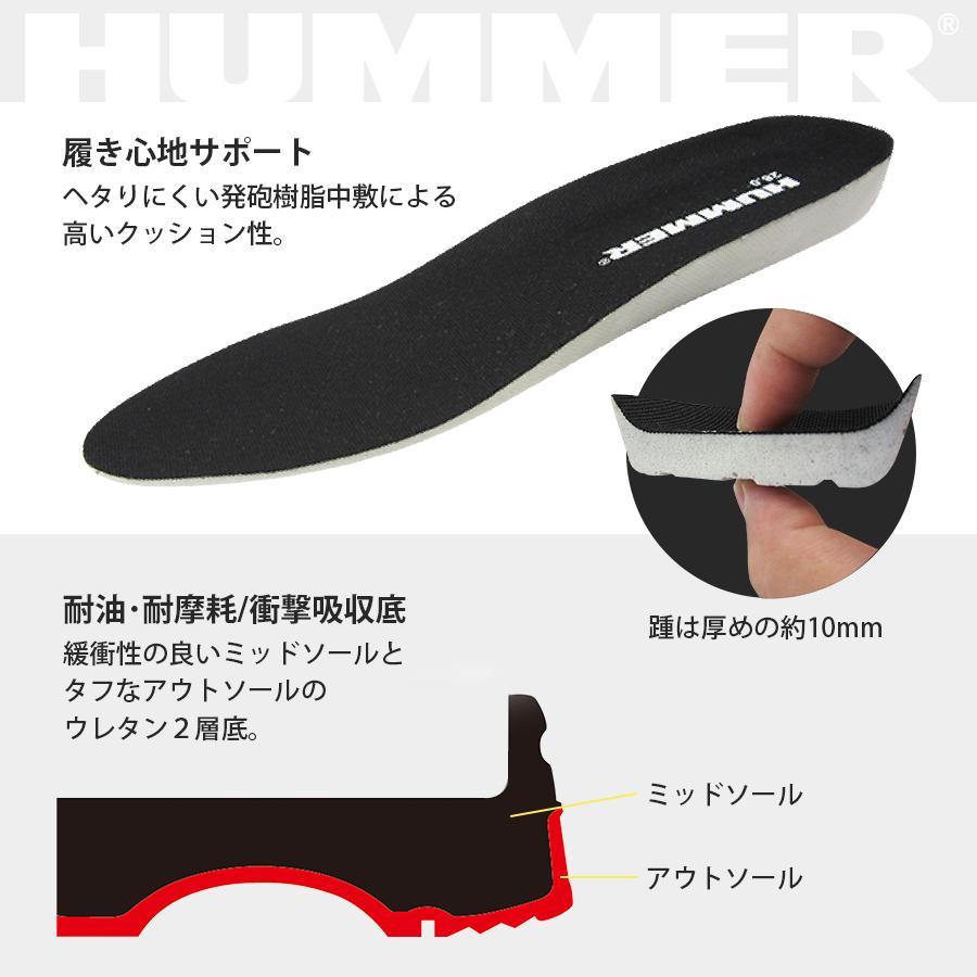 安全スニーカー ローカット 安全靴 作業靴 人気 反射材 鋼製先芯 耐油 耐摩耗 衝撃吸収底 HUMMER ハマー 弘進ゴム HS-Z2 everest-work 05