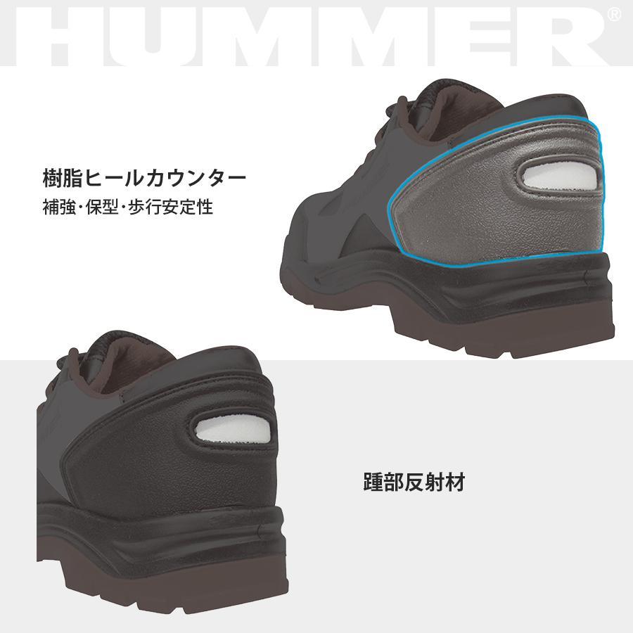 安全スニーカー ローカット 安全靴 作業靴 人気 反射材 鋼製先芯 耐油 耐摩耗 衝撃吸収底 HUMMER ハマー 弘進ゴム HS-Z2 everest-work 06