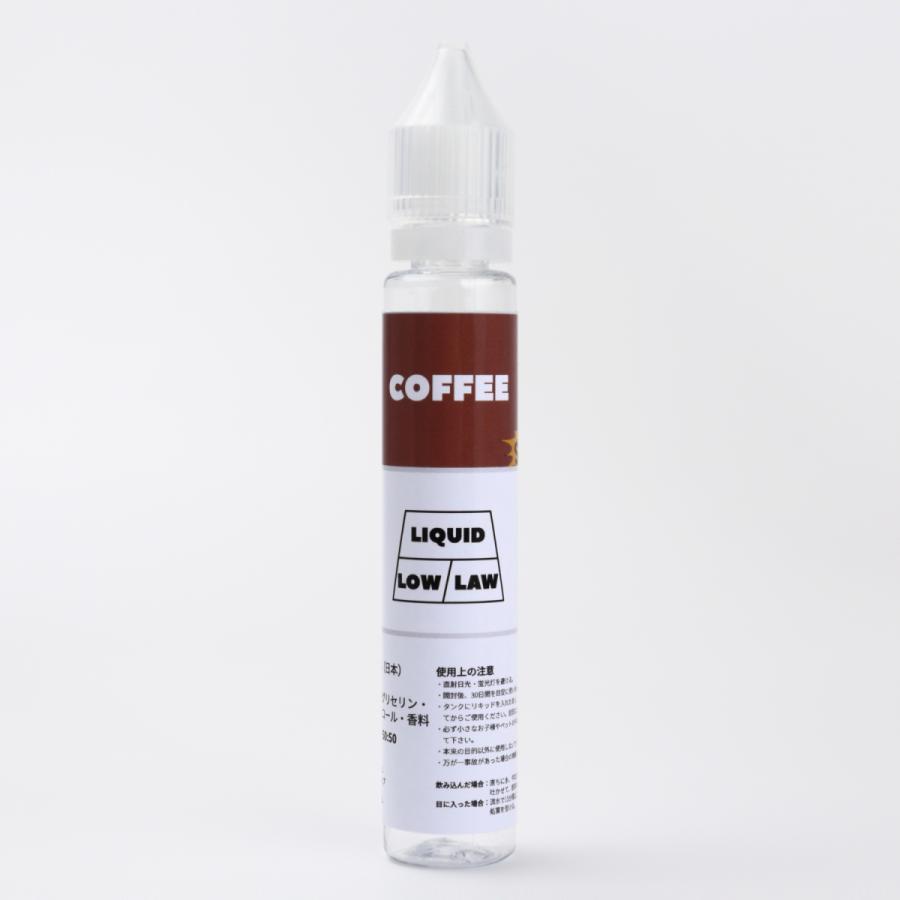 みんなのVAPE 電子タバコ 日本国産 特濃コーヒーリキッド (33ml)|everybody-vape