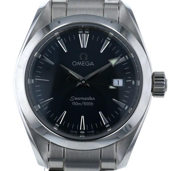激安な オメガ OMEGA シーマスター アクアテラ 150m デイト 2577.80 クオーツ ネイビー 文字盤 3針式 レディース 腕時計 【kk】【】, イズミシ 4f2b431b