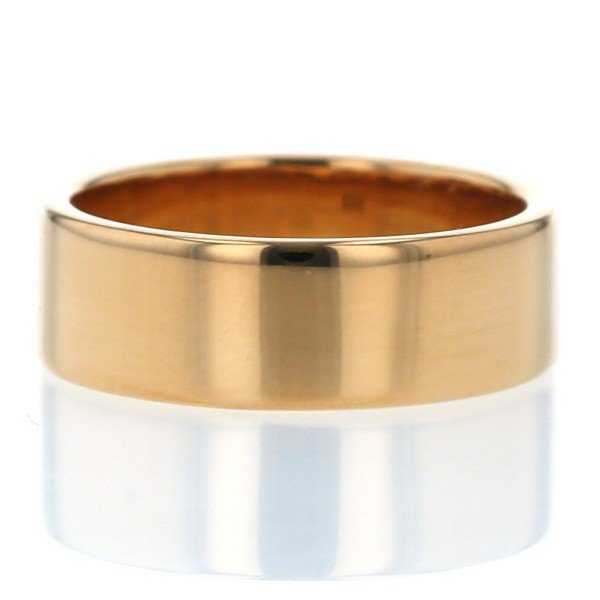 【お気にいる】 K22YG イエローゴールド リング 平打ちリング シンプル 幅広 デザイン 指輪 13.5号 メンズ レディース【新品仕上済】【el】【】, 爽ケア c7c9045b