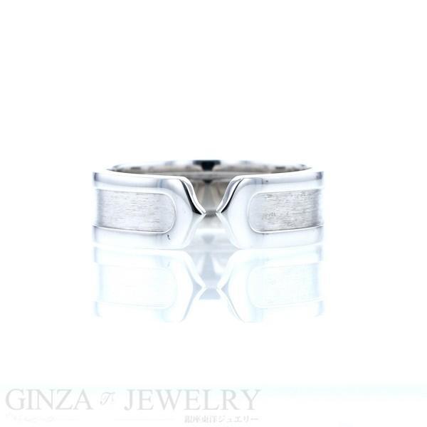 安価 Cartier カルティエ K18WG ホワイトゴールド リング 2C デザインリング 指輪 17号 【新品仕上済】【pa】【】, スマ友 1b7107b8
