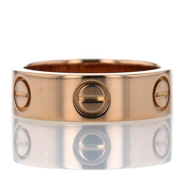 格安即決 Cartier カルティエ K18PG ピンクゴールド リング Cartier ラブリング カルティエ ロゴ LOVE リング デザイン 指輪 9号【新品仕上済】【af】【】, デジタル&バラエティ キョーエー:de9b1d4f --- airmodconsu.dominiotemporario.com