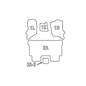 【ベージュ】Clazzio クラッツィオ立体フロアマット カーペットタイプ エブリイワゴンDA64W(H17/8-)|everyparts|04