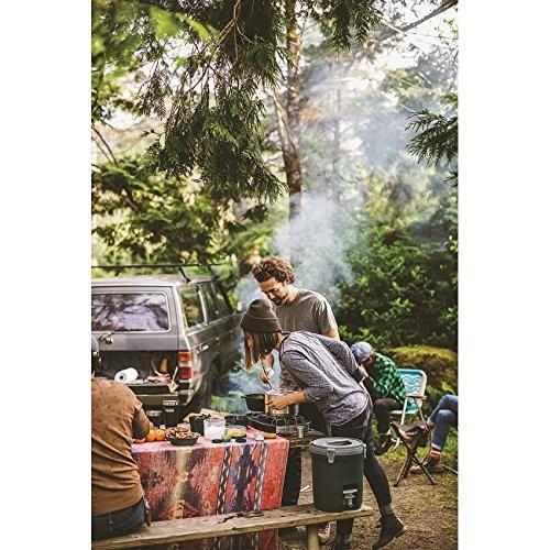 STANLEY(スタンレー) ベースキャンプクックセット 鍋 フライパン ふた付き 調理器具 食器 カトラリー セット 4人用 キャンプ ア