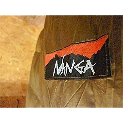 国内生産品Nanga(ナンガ) 別注オリジナルシュラフ ダウンバッグ 450STD BRN レギュラー 日本製