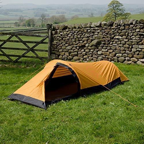 Snugpak Journey Solo Backpacking Tent, Sunburst Orange 並行輸入品