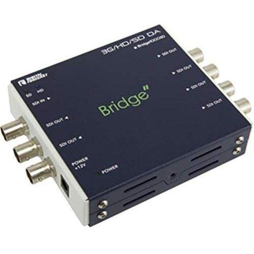 エーディテクノ マルチレート対応1入力6出力SDI分配器 1000SD