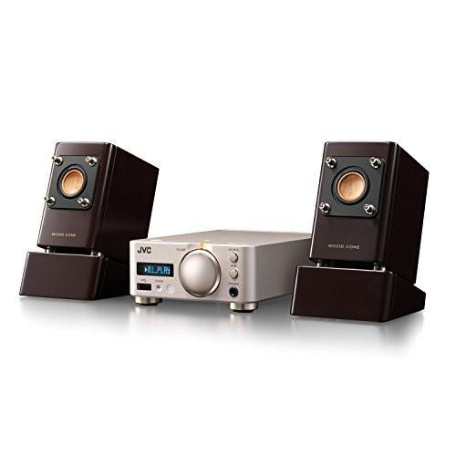 JVC ウッドコーンシリーズ EX-NW1 コンパクトコンポ Bluetooth/NFC/USB/ハイレゾ音源対応