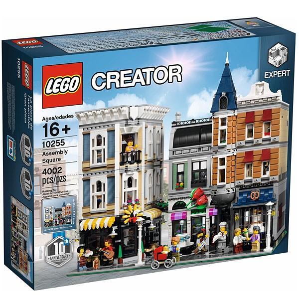 LEGO 10255 クリエイター エキスパート にぎやかな街角 Assembly Square アセンブリ スクエア レゴ ブロック 知育玩具