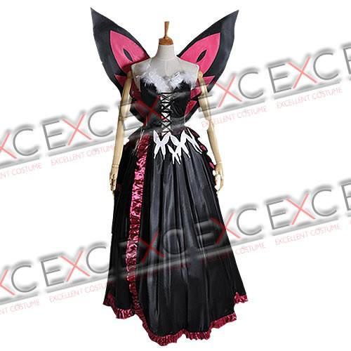 アクセル・ワールド 黒雪姫(くろゆきひめ) 学内アバター 風 コスプレ衣装