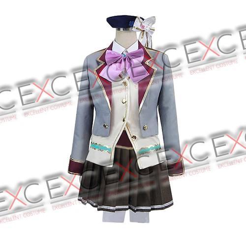 【39%OFF!!】白猫プロジェクト エクセリア 私立茶熊学園制服 風 コスプレ衣装