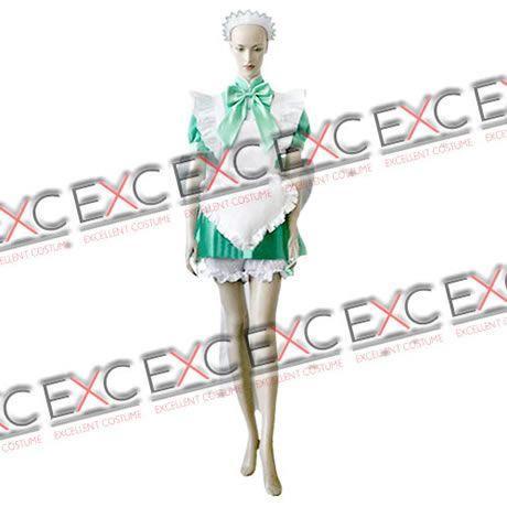 東京ミュウミュウ 碧川れたす(みどりかわれたす) メイド服 風 コスプレ衣装