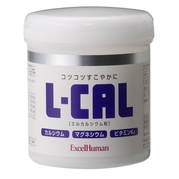 エルカルシウム  L型乳酸発酵カルシウム/乳酸菌/植物性/骨/マグネシウム/ビタミンK2/塩水湖水ミネラル液|excelhuman-net