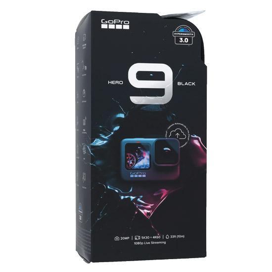【中古】GoPro ウェアラブルカメラ HERO9 BLACK CHDHX-901-FW 未使用
