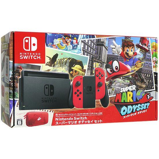 【キャッシュレスで5%還元】【中古】任天堂 Nintendo Switch スーパーマリオ オデッセイセット HAC-S-KADEE 未使用