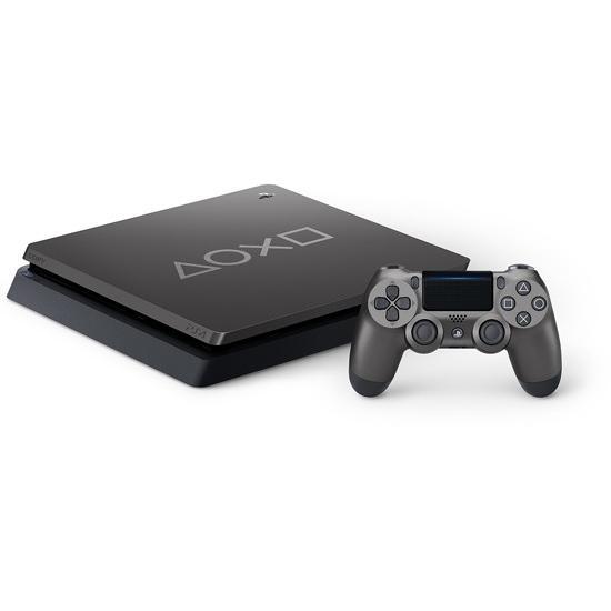 【キャッシュレスで5%還元】【中古】SONY プレイステーション4 1TB Days of Play Limited Edition CUH-2200BBZR 未使用