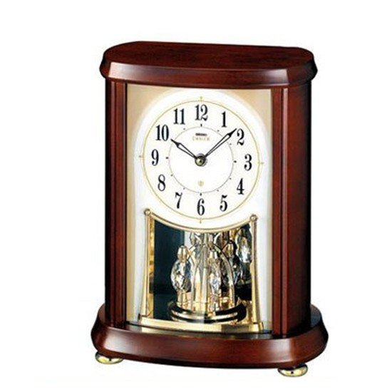 【キャッシュレスで5%還元】【中古】SEIKO 電波置時計 HW566B 未使用