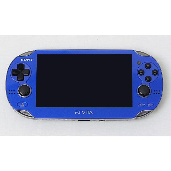 【キャッシュレスで5%還元】【中古】SONY PSVita Wi-Fiモデル ブルー PCH-1000 ZA04 本体のみ