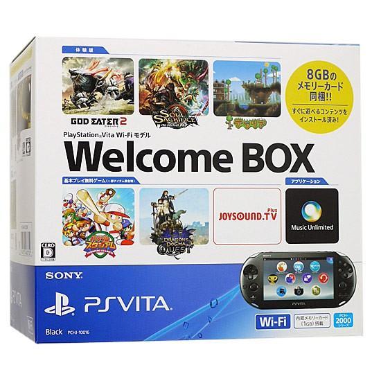 【キャッシュレスで5%還元】【中古】PSVita Wi-Fiモデル Welcome BOX PCHJ-10016 元箱あり