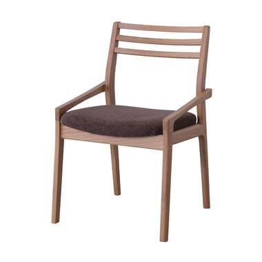 チェア(オーク)〈JPC-123OAK〉パーソナルチェア ダイニングチェア 一人用 1人掛け 椅子 インテリア 家具 おしゃれ シンプル ナチュラル【日本製】