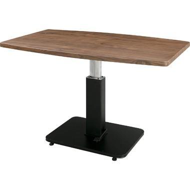 ジオ リフトテーブル〈MIP-52BR〉昇降機能付 机 カフェテーブル キッチン ダイニング リビング インテリア 家具 おしゃれ