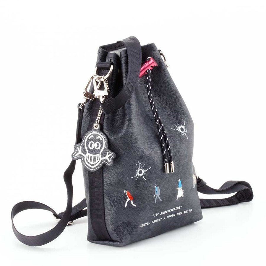 GENTIL BANDIT ジャンティバンティ LIMITED EDITION 2WAY POUCH BAG 10周年限定巾着バッグ GB10E-KC-DIGI|exclusive|03
