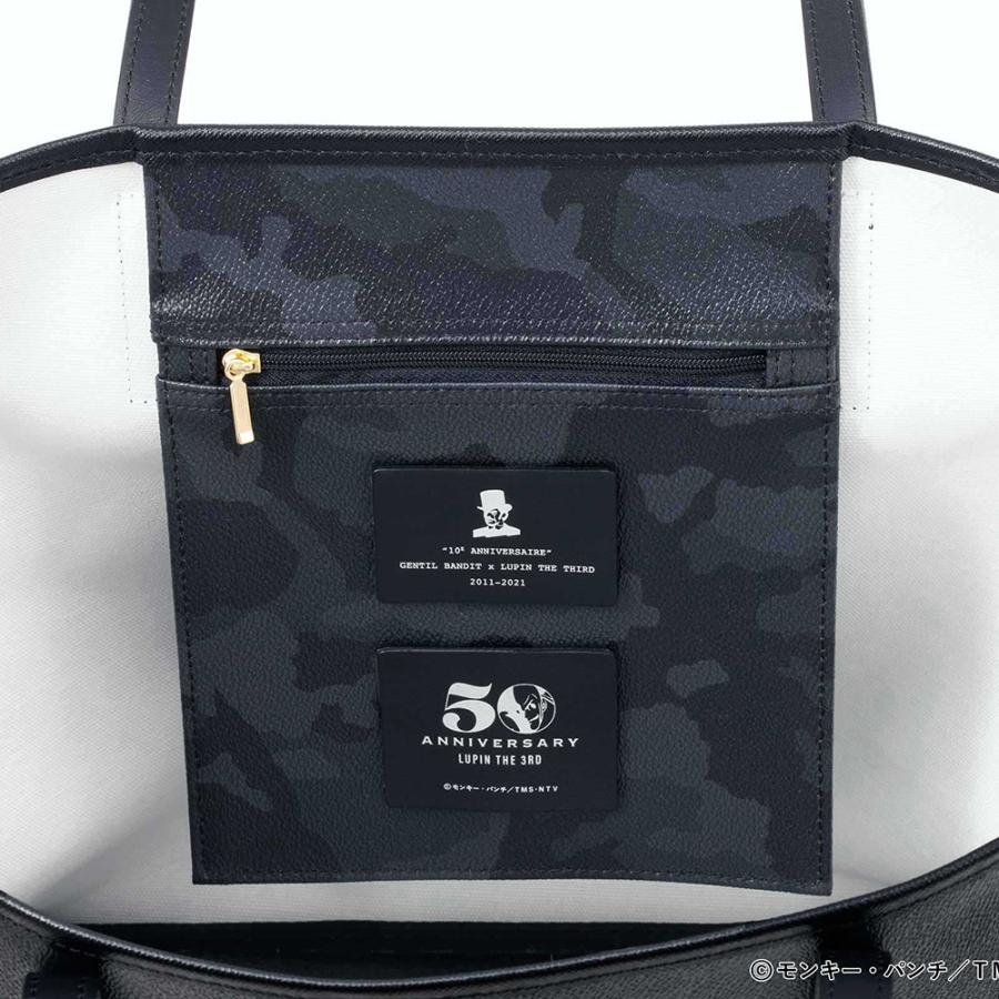 GENTIL BANDIT ジャンティバンティ LIMITED EDITION TOTE BAG 10周年限定トートバッグ GB10E-MM LUPIN JIGEN GOEMON|exclusive|06