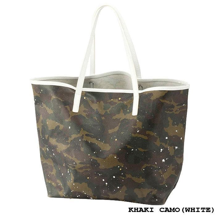 GENTIL BANDIT ジャンティバンティ TOTE BAG(L) トートバッグ(大) ユニセックス KHAKI CAMO(BLACK) KHAKI CAMO(WHITE) BLACK CAMO(BCM) GB1981-MM|exclusive|03