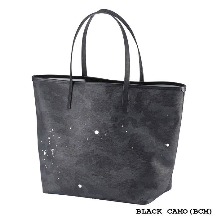 GENTIL BANDIT ジャンティバンティ TOTE BAG(L) トートバッグ(大) ユニセックス KHAKI CAMO(BLACK) KHAKI CAMO(WHITE) BLACK CAMO(BCM) GB1981-MM|exclusive|04