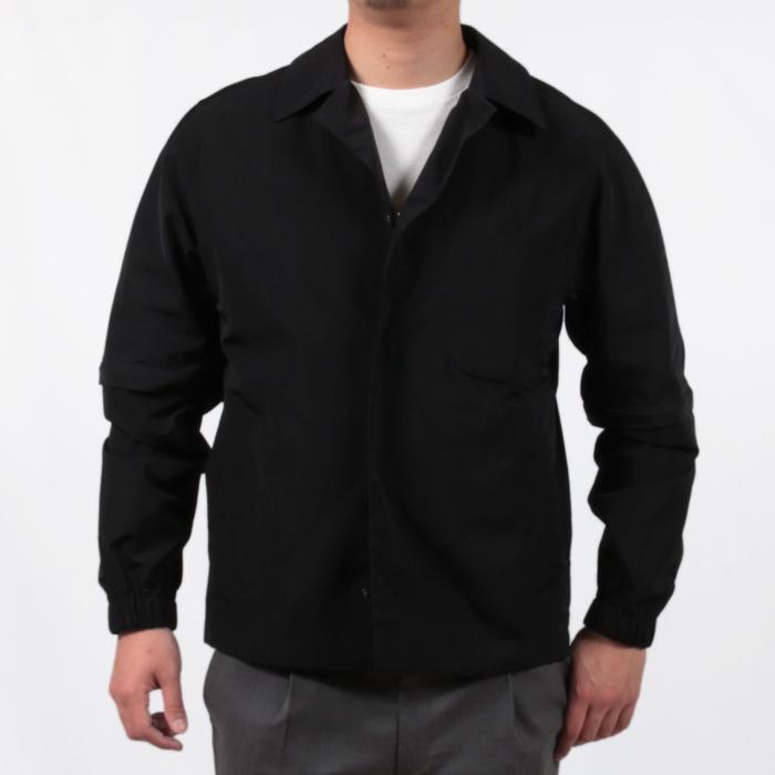 【SALE 50】hevo イーヴォ GROM718 ナイロンオープンカラーシャツジャケット 21春夏 2558/IRIDESCENT 2517/BLACK 1105-GROM718 exclusive 13