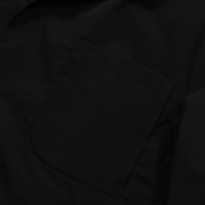 【SALE 50】hevo イーヴォ GROM718 ナイロンオープンカラーシャツジャケット 21春夏 2558/IRIDESCENT 2517/BLACK 1105-GROM718 exclusive 05