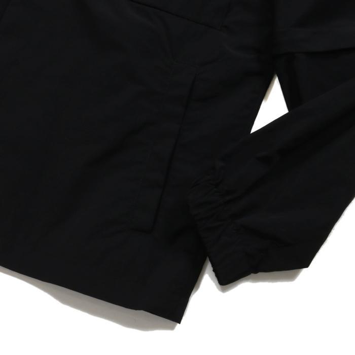 【SALE 50】hevo イーヴォ GROM718 ナイロンオープンカラーシャツジャケット 21春夏 2558/IRIDESCENT 2517/BLACK 1105-GROM718 exclusive 06