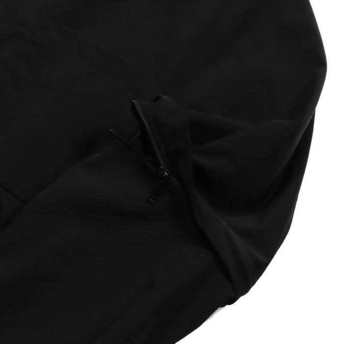 【SALE 50】hevo イーヴォ GROM718 ナイロンオープンカラーシャツジャケット 21春夏 2558/IRIDESCENT 2517/BLACK 1105-GROM718 exclusive 07