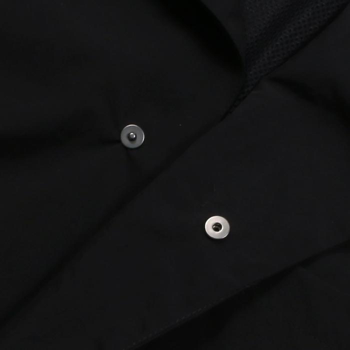 【SALE 50】hevo イーヴォ GROM718 ナイロンオープンカラーシャツジャケット 21春夏 2558/IRIDESCENT 2517/BLACK 1105-GROM718 exclusive 08