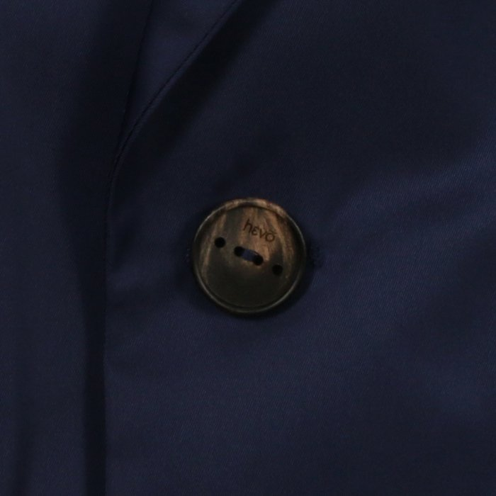【SALE 50】hevo イーヴォ OSTUNI ナイロンベルテッドシングルコート 21春夏 1965/NAVY 2273/CAMEL 1105-OSTU716 exclusive 05
