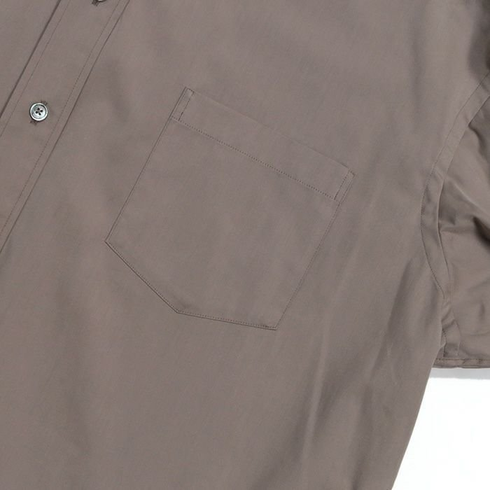 【SALE 40】TICCA ティッカ スクエアビッグシャツ レディース 21春夏 WHITE CREAM PINK MOCA TBAS-101|exclusive|11